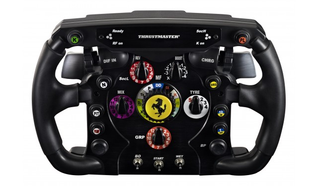 Thrustmaster Ferrari F1 wheel, PS3/PS4/Xbox ONE Съемное рулевое колесо
