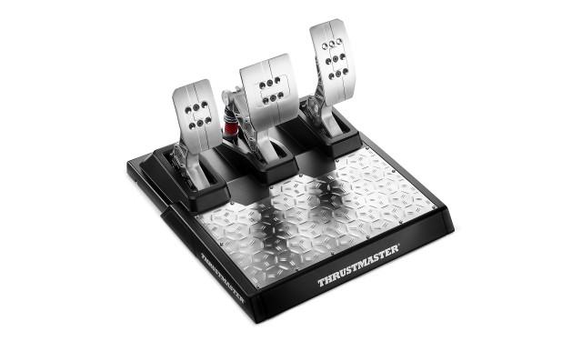 Комплектующие для руля Thrustmaster T-LCM Pedals, черный/серебристый
