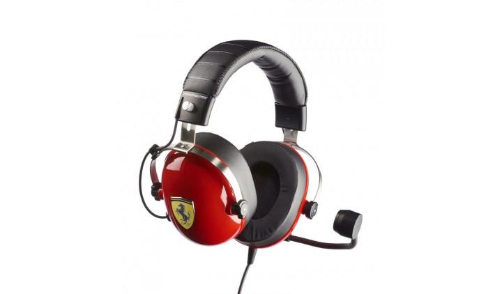 Компьютерная гарнитура Thrustmaster T.Racing Scuderia Ferrari Edition черный/красный