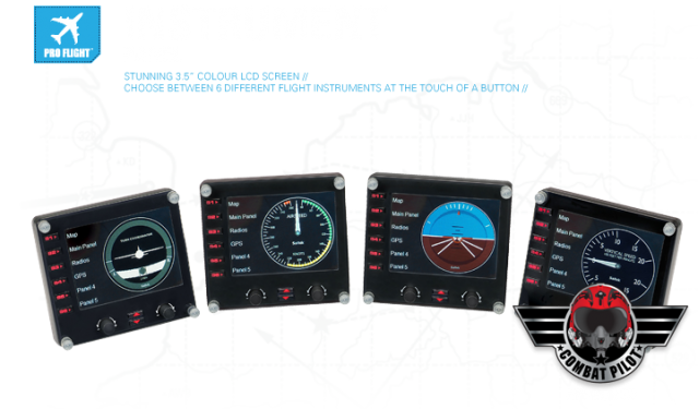 Панель Saitek Pro Flight Instrument Panel