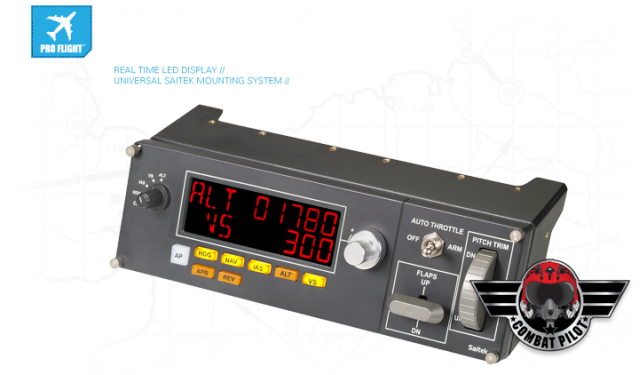 Панель Saitek Pro Flight Multi Panel