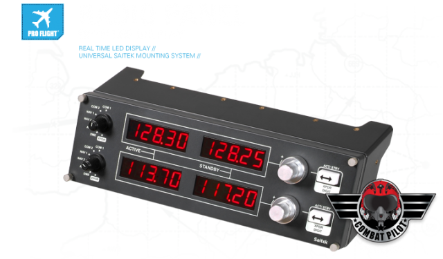 Панель Saitek Pro Flight Radio Panel