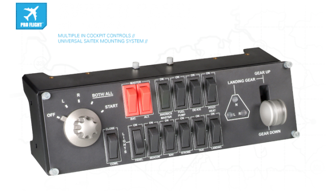 Панель Saitek Pro Flight Switch Panel